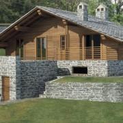Pré Saint Didier frazione Verrand Villa Nuova Costruione 210 mq